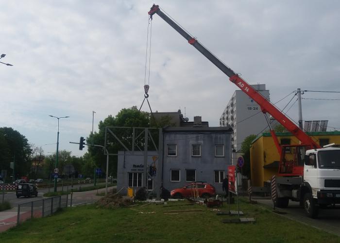 konstrukcja-billboard-montaż-Sosnowiec