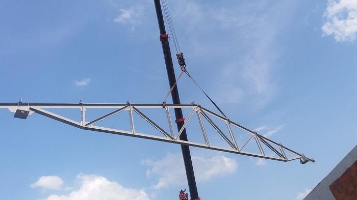 konstrukcja stalowa dachu Siemianowice