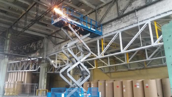 demontaz konstrukcji stalowej